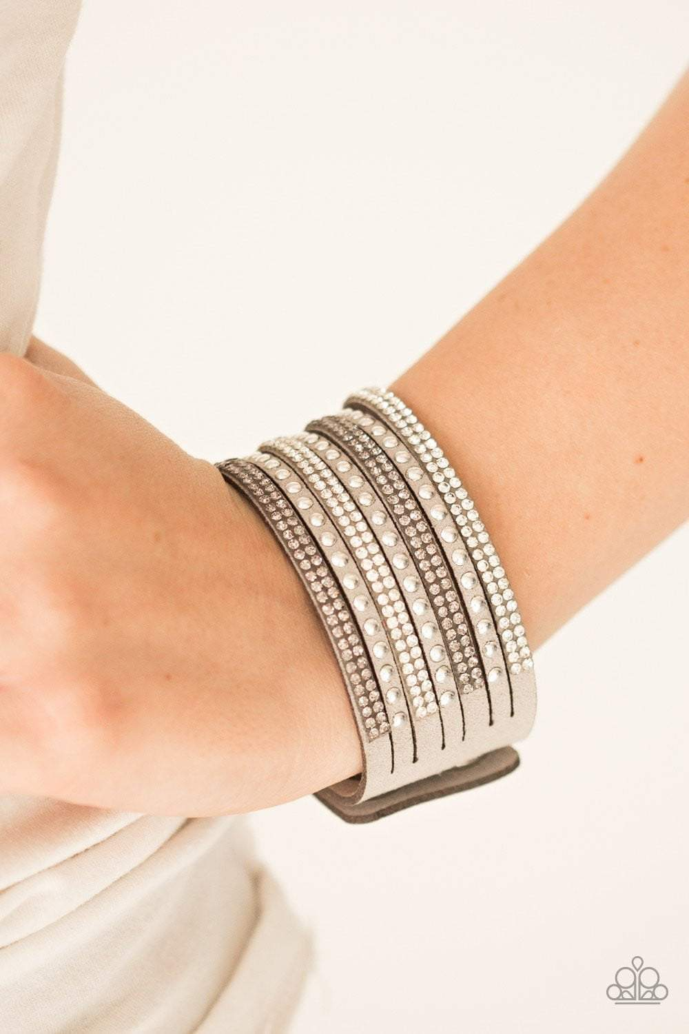 Paparazzi Victory Shine - Silver Bracelet - Bling It On Online