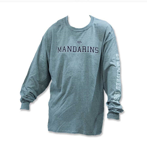 Mandarins Long Sleeve T Shirt (Gray)
