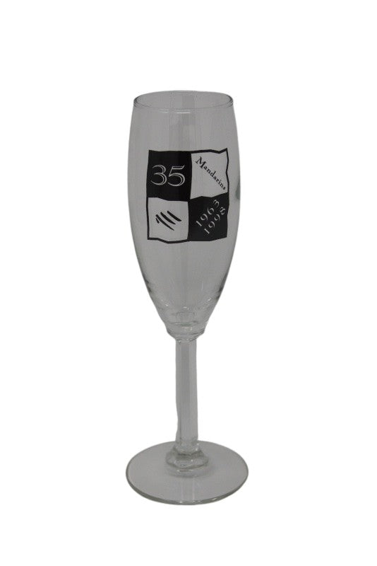 Wine Glasses - 35th Anniversary Champagne Flute