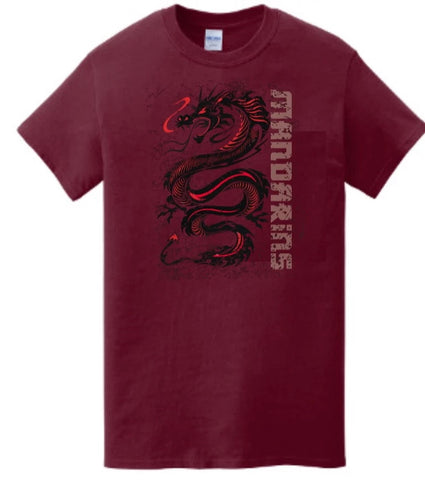 T-Shirt - Dragon crew neck