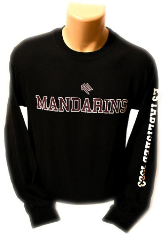 Mandarins Long Sleeve T-Shirt (Black)
