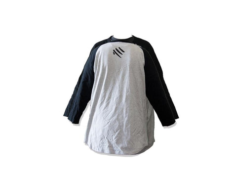 Mandarins Baseball Shirt (Gray)