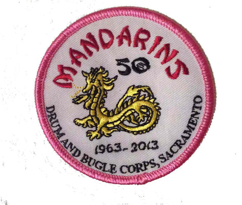 Mandarins 50th Anniversary Patch
