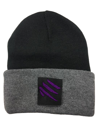 Cap - Beanie Black and Gray