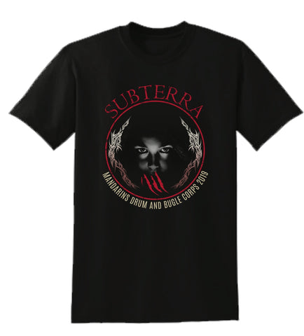 T-Shirt - Subterra Black with Face