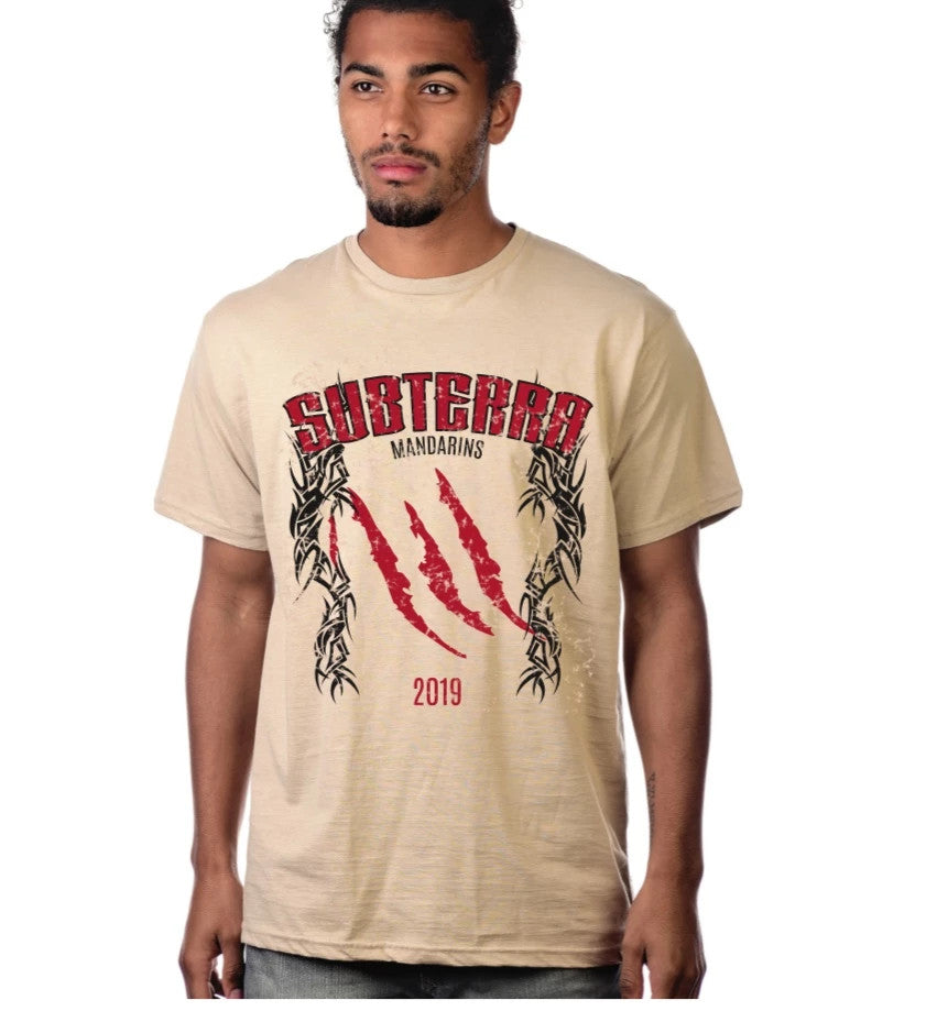 T-Shirt - Subterra Tan Tribal
