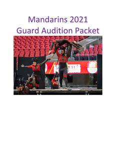2021 - Guard Audition Packet