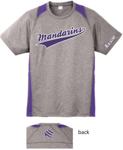 Baseball Shirt - Men's Purple and Gray