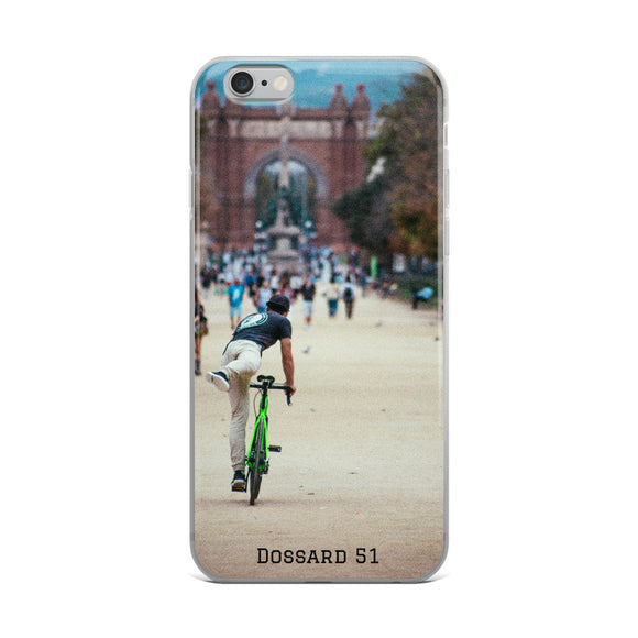 City Bike - Coque iPhone - Dossard 51 - cyclisme