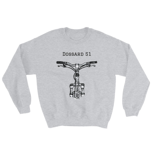 On the bike - Sweatshirt - Dossard 51 - cyclisme