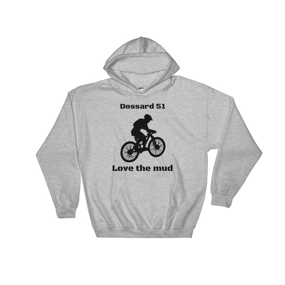 Love the mud - Sweatshirt - Dossard 51 - cyclisme