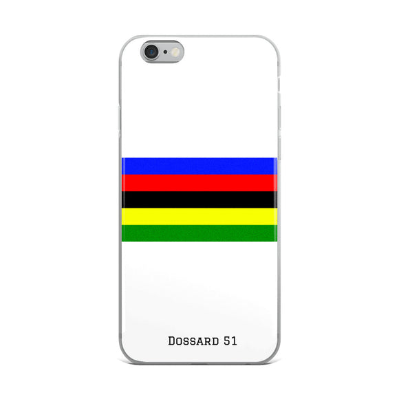 World champion - Coque iPhone - Dossard 51 - cyclisme