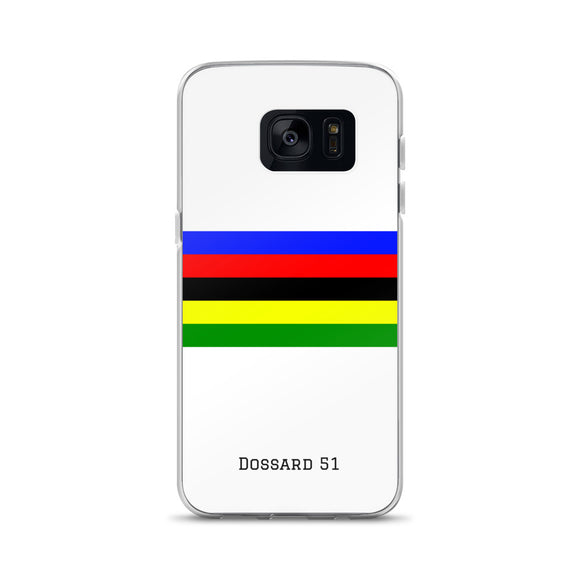 World Champion - Coque Samsung - Dossard 51 - cyclisme