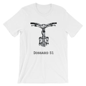 On the bike - T-Shirt - Dossard 51 - cyclisme