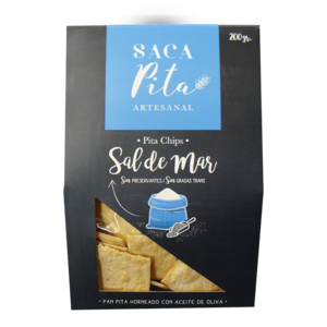Pita Chips Sal de Mar <br/> 200 gr