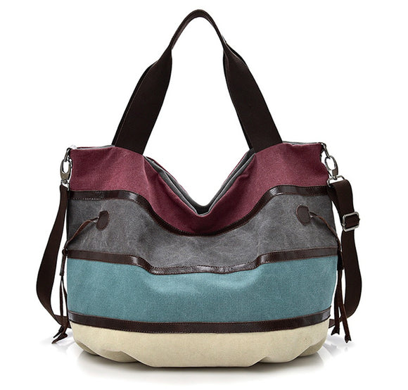 Fashion Canvas Handbags Messenger Shoulder Bag