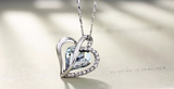 Beautiful  Love Heart Pendant Necklaces Fashion Jewelry