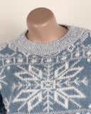 Autumn and Winter Snowflake Sweater Pullover
