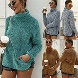 Hot Women's Long Sleeve Pullover Sweater Jumper