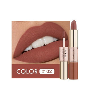 12 Colors Lipstick Long Lasting Moisture Waterproof Makeup