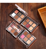 2 In 1 Eyeshadow Palette + Blush Powder Makeup Kit
