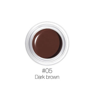 Eyebrow Gel 6 Colors 3D Natural Shade Makeup Profesional Cosmetics With Brush