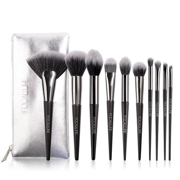10 Pcs/Set Professional Makeup Brushes Kit Make Up Brush Tools