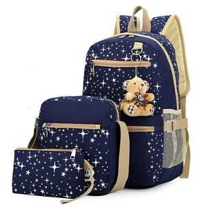 school backpack set for kids