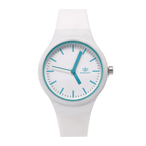 Fashion Watches Silicone Casual Ladies Quartz Wristwatches