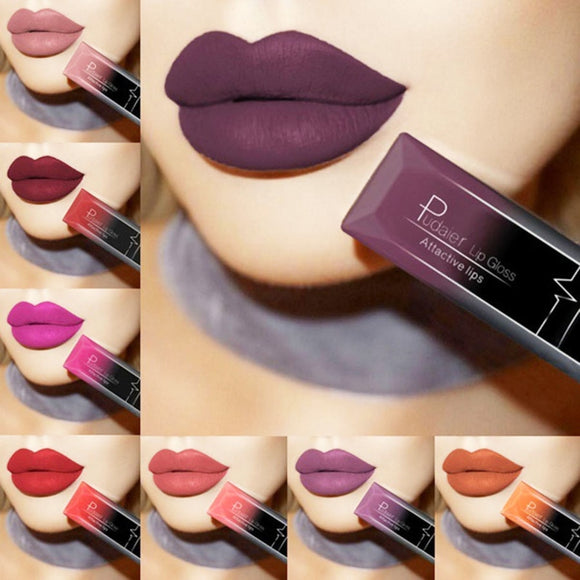 Sexy Long Lasting Waterproof Lipstick Cosmetic Makeup
