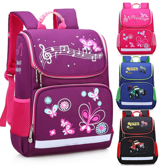 New Children School Bags Butterfly Kids Backpack