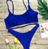 Bikini Set Sexy Swimwear Swimsuit Hollow Out Bathing Suit
