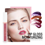 Mirror Glass Lip Gloss Moisturizing Shimmer Lipstick Makeup