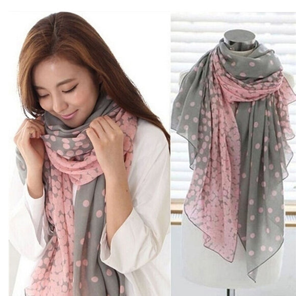 Autumn Soft Long Scarf Shawl