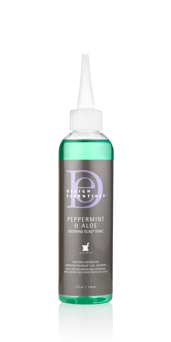 Design Essentials Peppermint Aloe Scalp Tonic