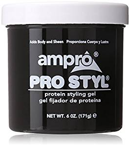 Ampro Styling Gel BLACK 15oz.
