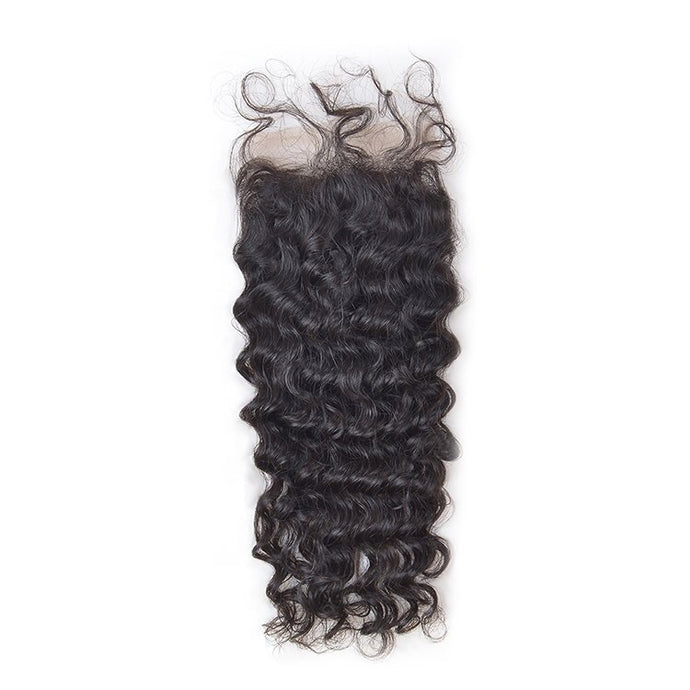 Indian Wavy Closure 4x4