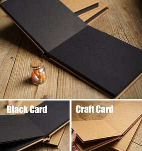 Kraft Wedding Scrapbook Album - heilsadiyalbum