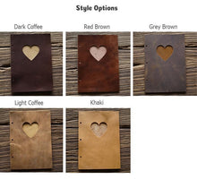 Load image into Gallery viewer, Genuine Leather Love Album - heilsadiyalbum