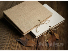 Load image into Gallery viewer, Handmade Linen Photo Album - heilsadiyalbum