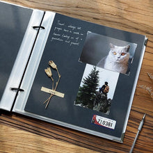 Load image into Gallery viewer, Large White Diy Album with Ribbon - heilsadiyalbum