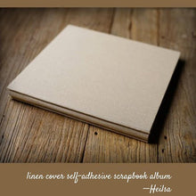 Load image into Gallery viewer, Self-adhesive Linen Photo Album - heilsadiyalbum