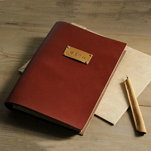 Genuine Leather Photo Album - heilsadiyalbum