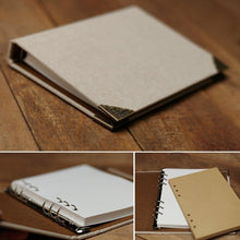 Load image into Gallery viewer, Linen Cover Journal Scrapbook - heilsadiyalbum