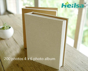 Photo album 4x6 for 200 Photos - heilsadiyalbum