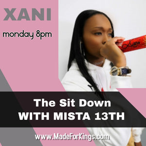 The Sit Down with Mr.13 Season 2 Ep. 6 - Xani (Emerging Artist from Elizabeth New Jersey)