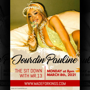 The Sit Down with Mr.13 Season 2 Ep. 3 - Jourdin Pauline (The Guyanese Pop Princess) Podcast Audio