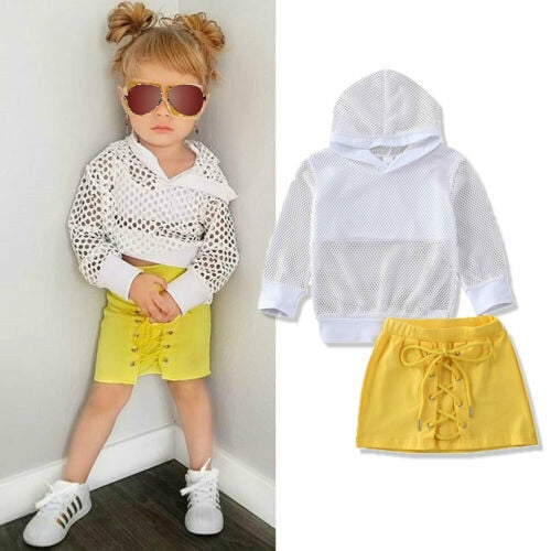 hannah outfits 2pcs 2T TO 6T