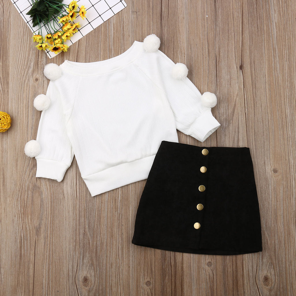aicha outfits 2PCS 2T TO 5T