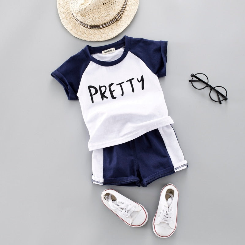 """Pretty"" Outfits 2PCS 12M TO 4T"